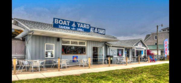 Boatyard at Buckeye Lake.